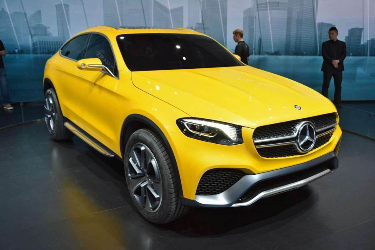 Mercedes-Benz GLC Coupè al Salone di New York