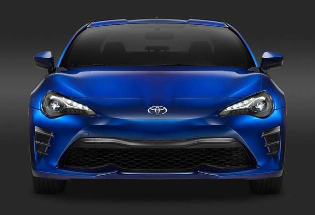 Toyota GT86, al Salone di New York