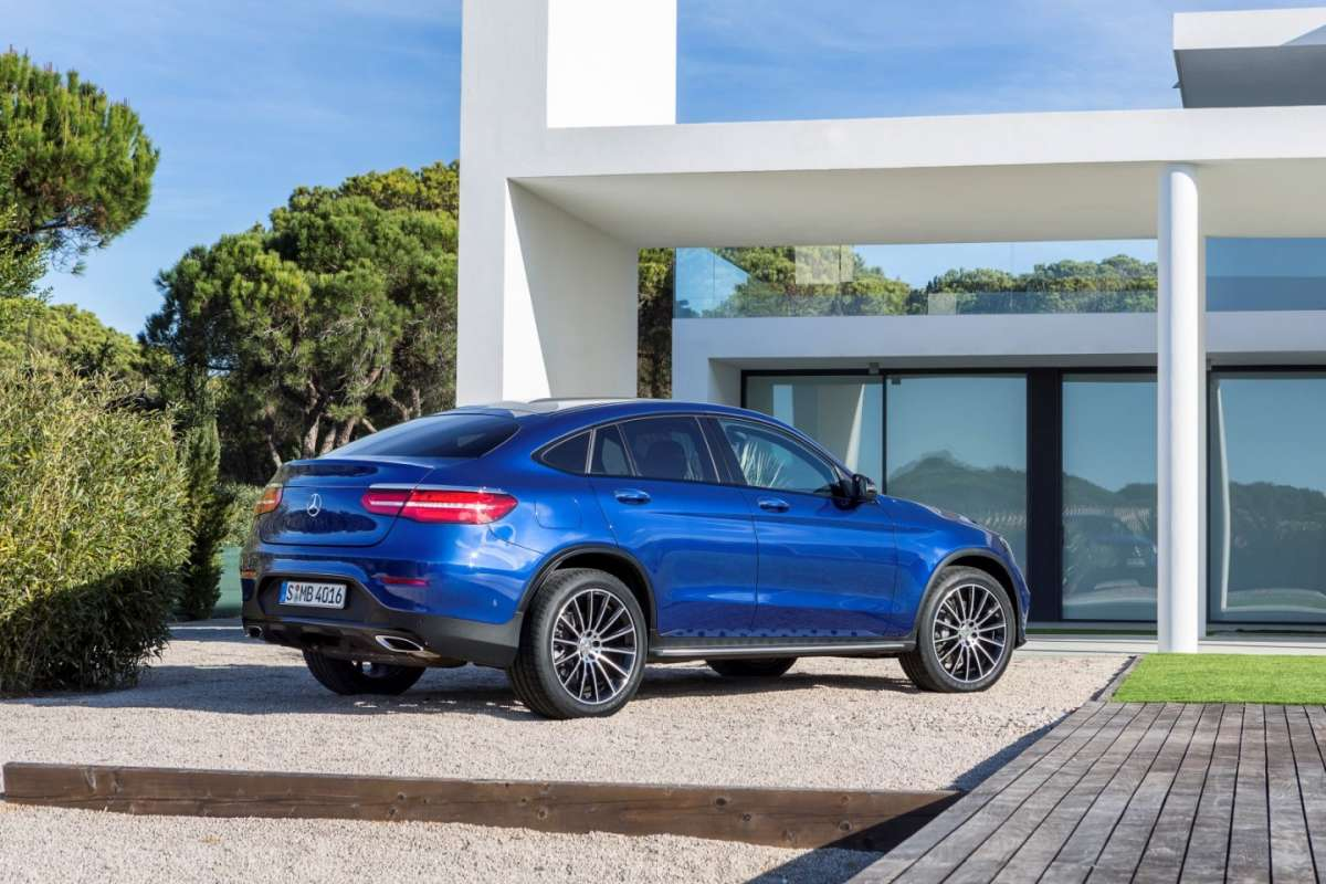 Mercedes GLC Coupe con pack AMG Line