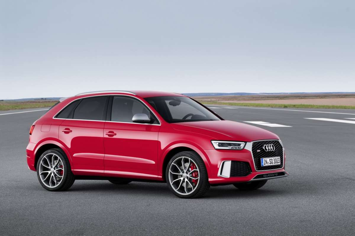 Audi RS Q3 restyling motore