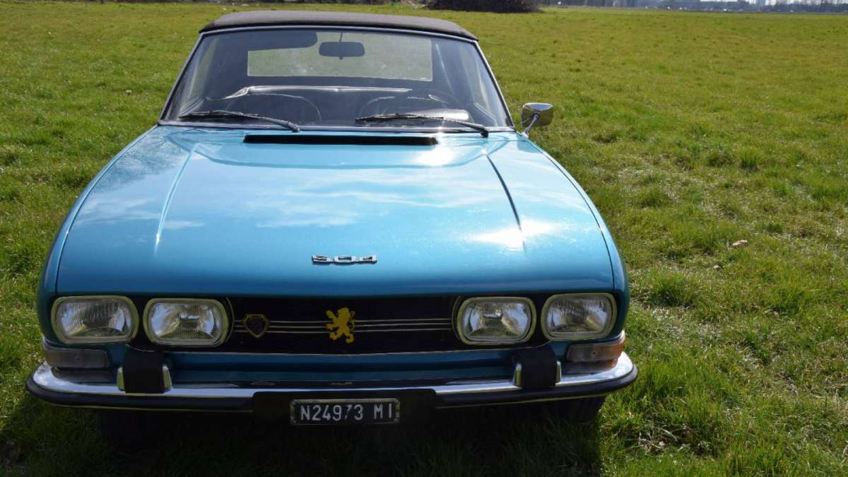 Peugeot 504 Cabrio frontale