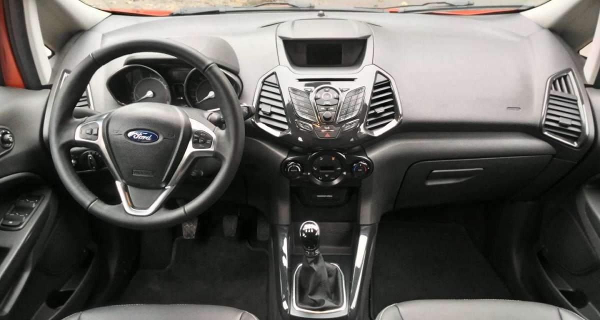 Ford EcoSport, cruscotto