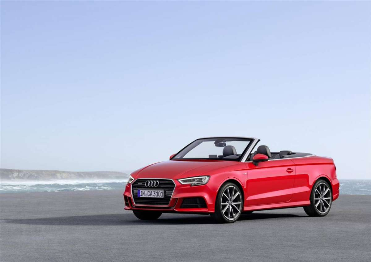 Audi A3 cabrio restyling