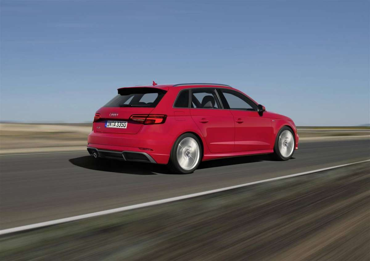 Audi S3 restyling, scheda tecnica