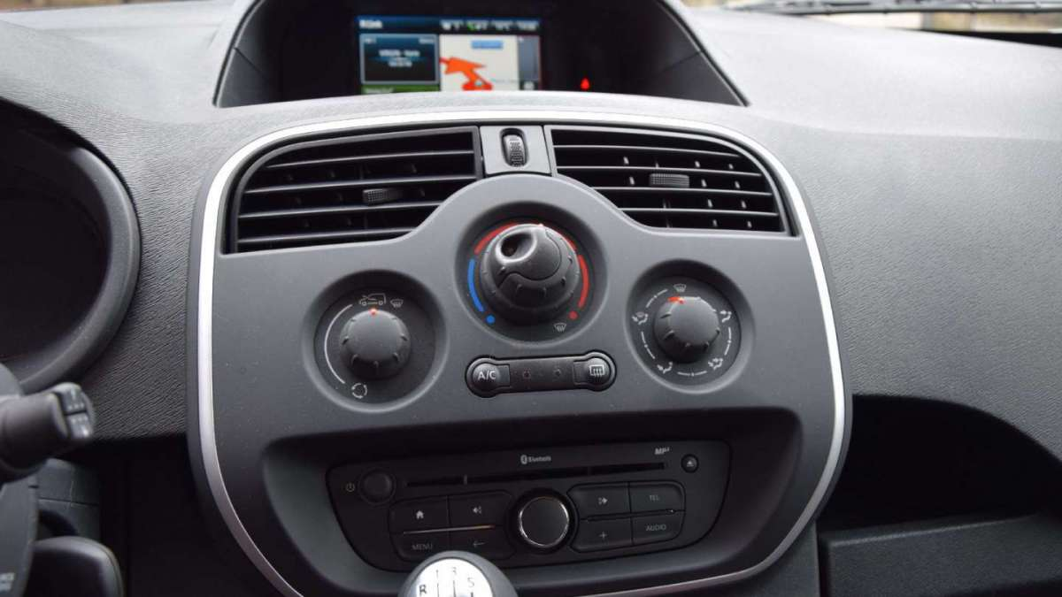 Renault Kangoo Express consolle centrale