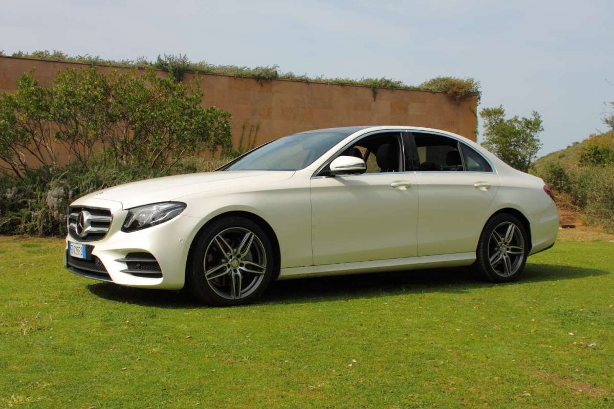 Mercedes-Benz Classe E 2016, Test drive