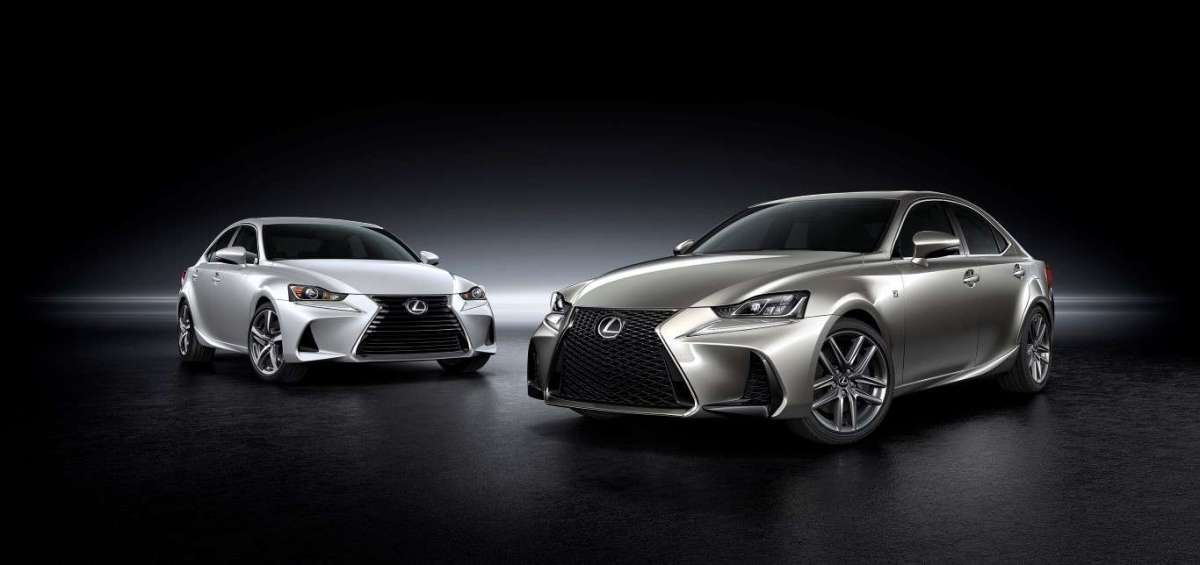 Lexus IS restyling 2016