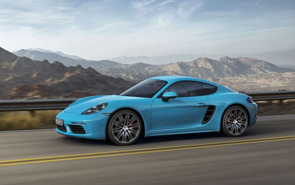 Porsche 718 Cayman turbo