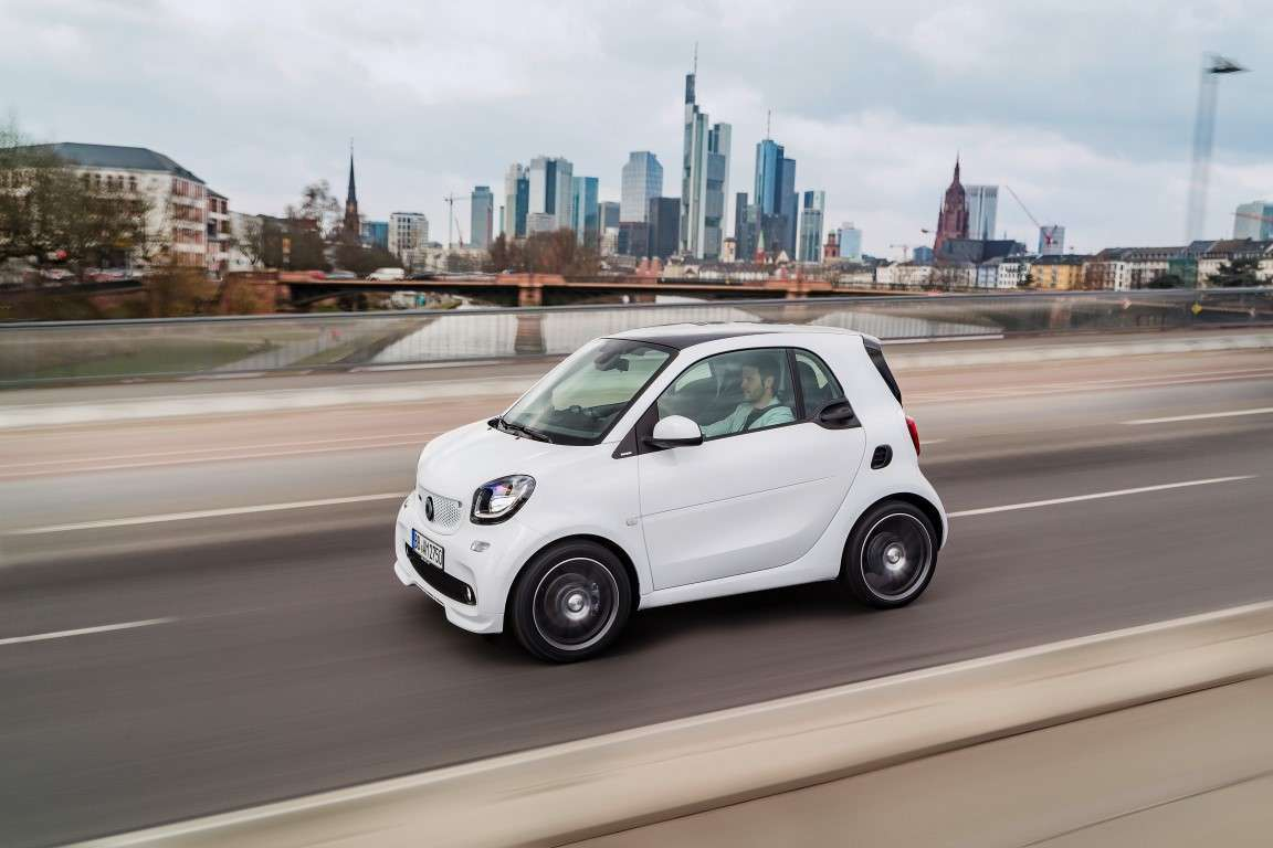 Smart Fortwo Brabus 2016