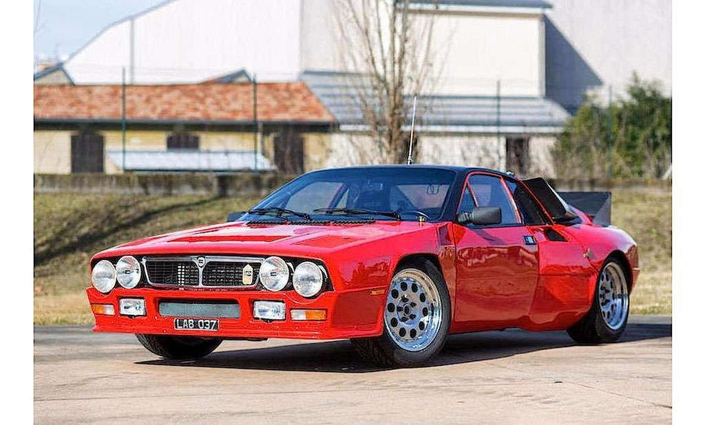 Lancia Rally Abarth 037, il prototipo all'asta