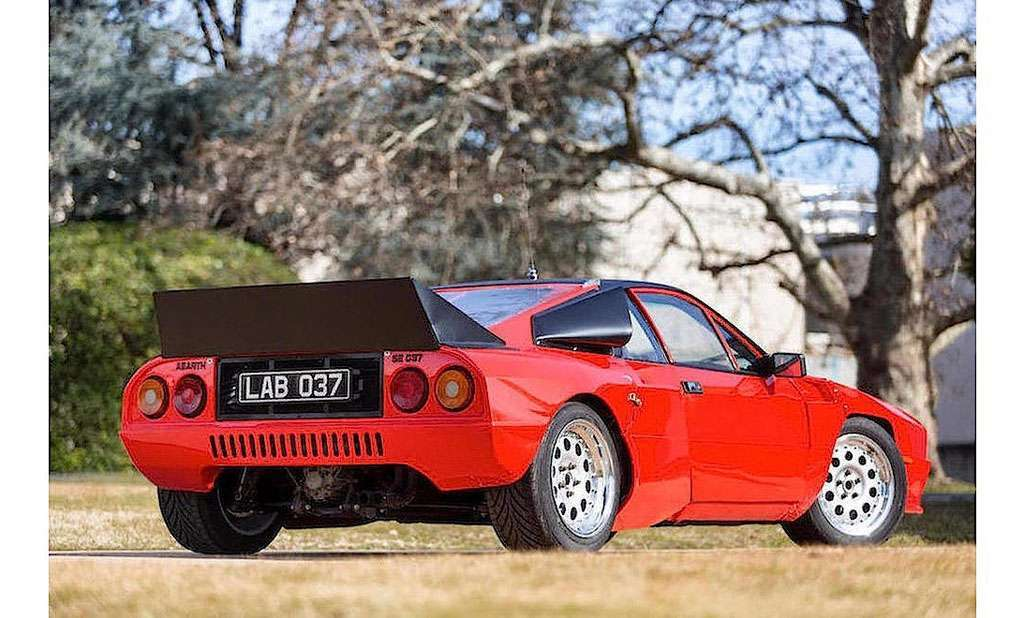 Lancia Rally Abarth 037 spoiler