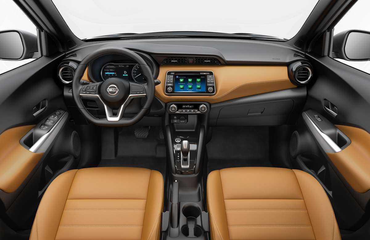 Interni di Nissan Kicks