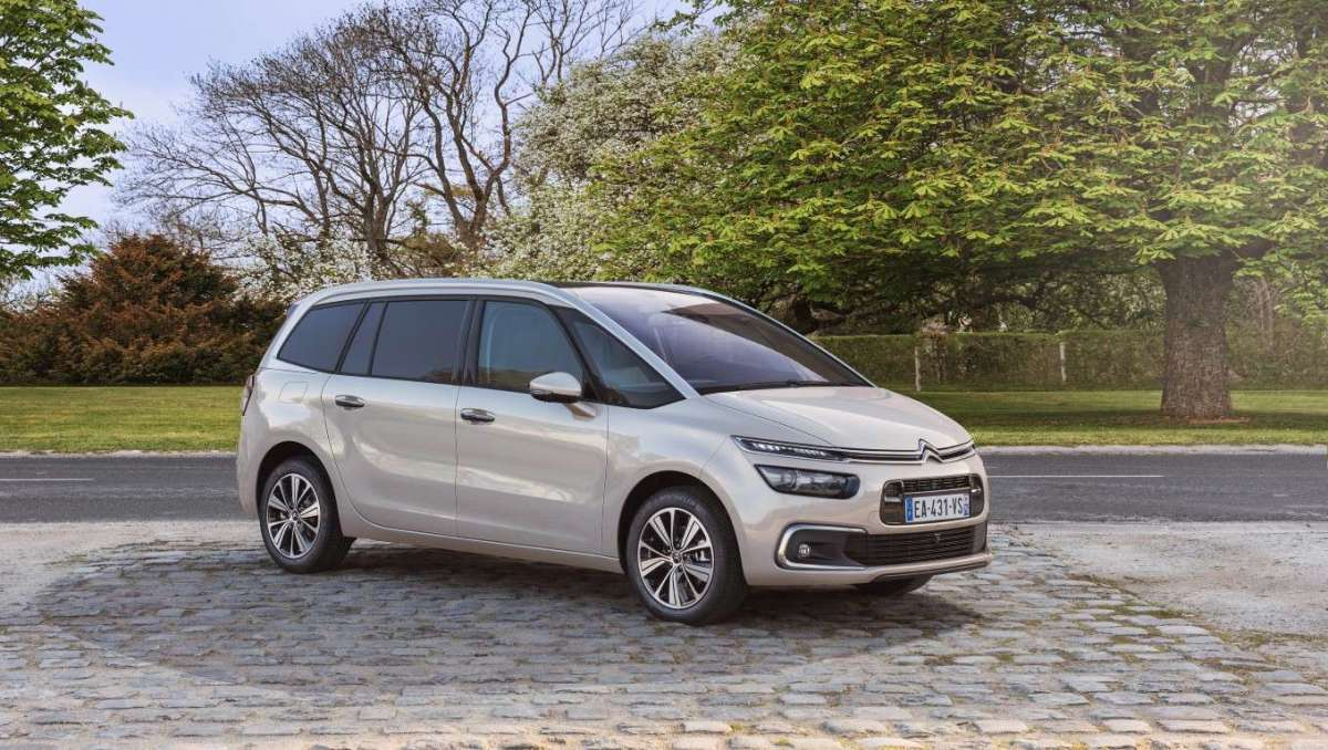 Citroen C4 Grand Picasso restyling 2016