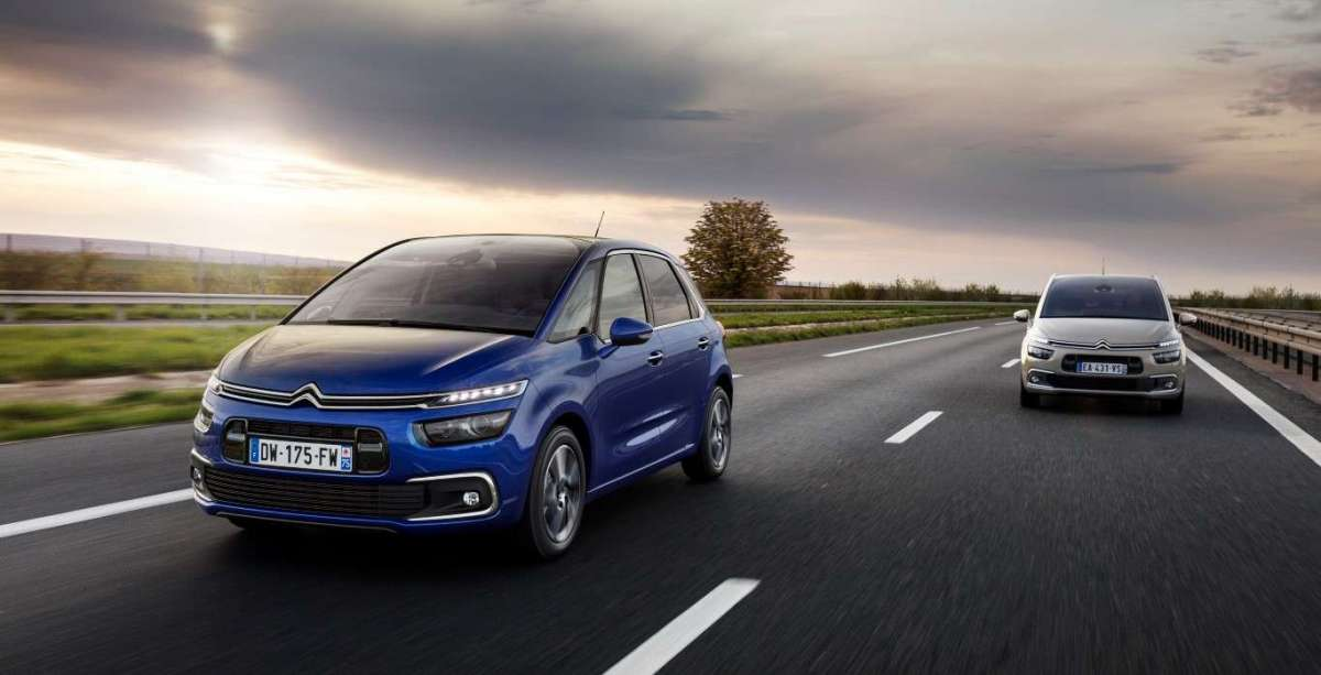 Frontale di Citroen C4 Picasso restyling 2016