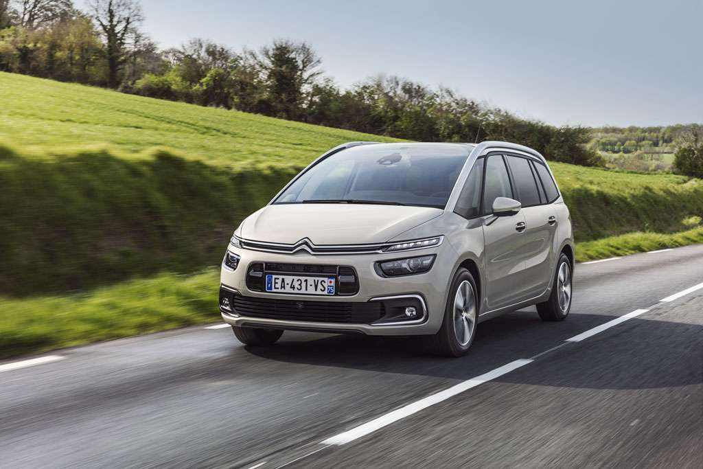 Citroen Grand C4 Picasso design anteriore