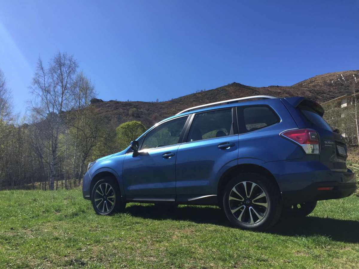 Subaru Forester restyling 2016