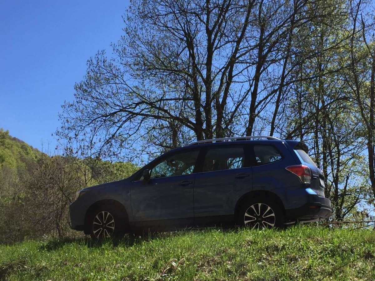 Subaru Forester MY 2016 in montagna