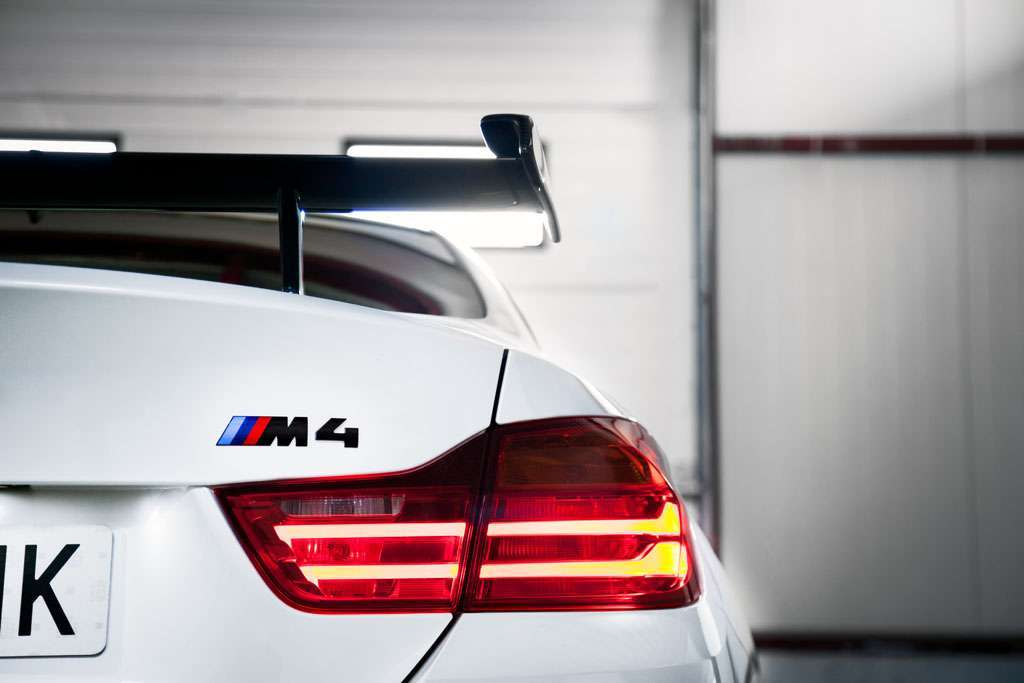 BMW M4 Competition Sport design logo