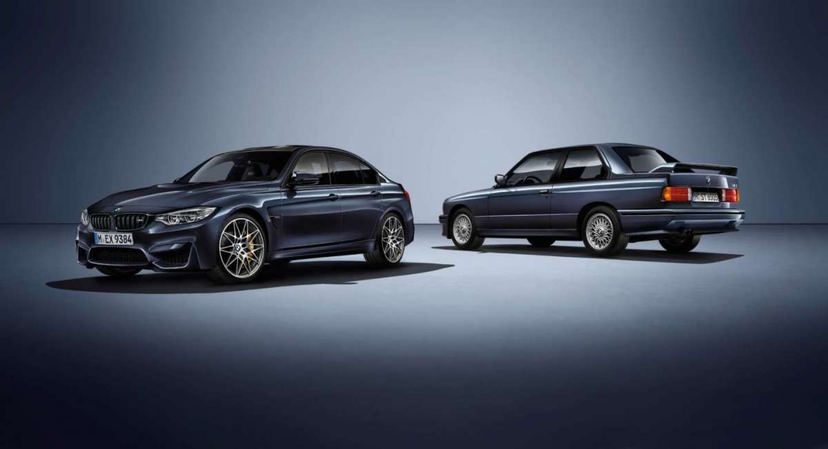 BMW M3 30 Years Edition