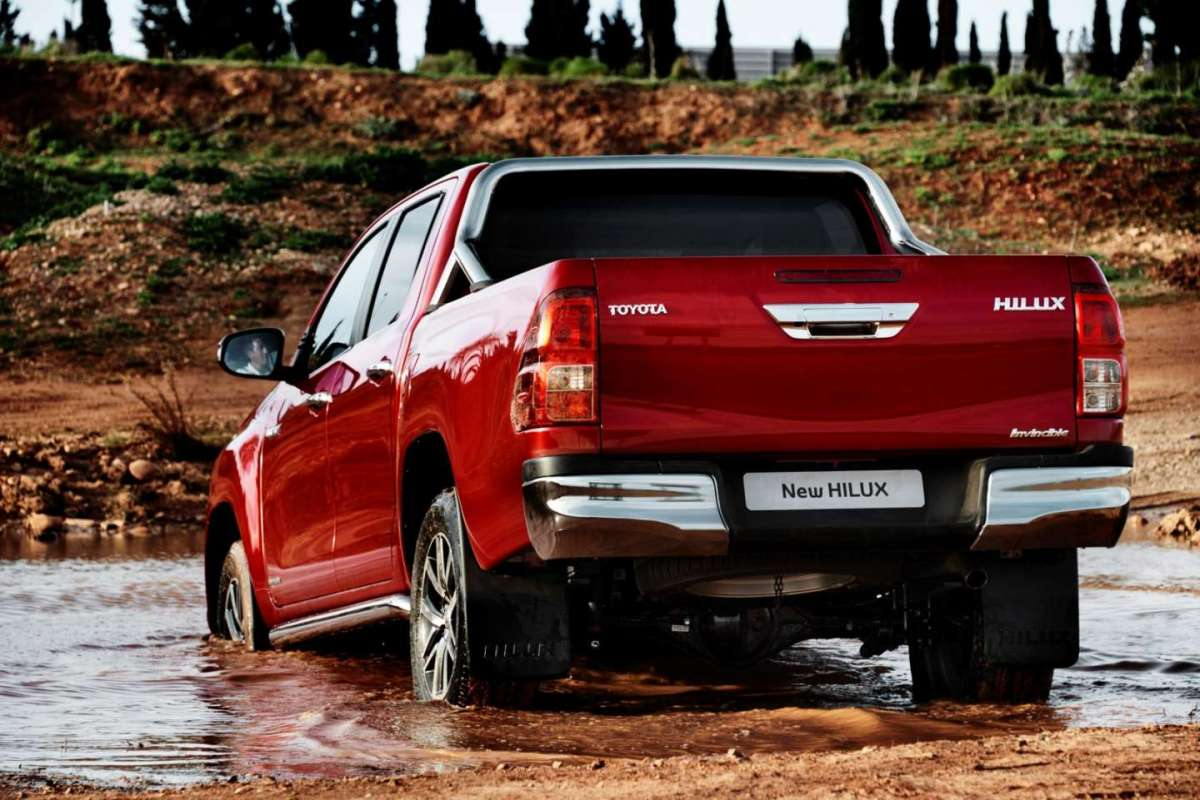 Nuovo Toyota Hilux 2016 integrale 4x4