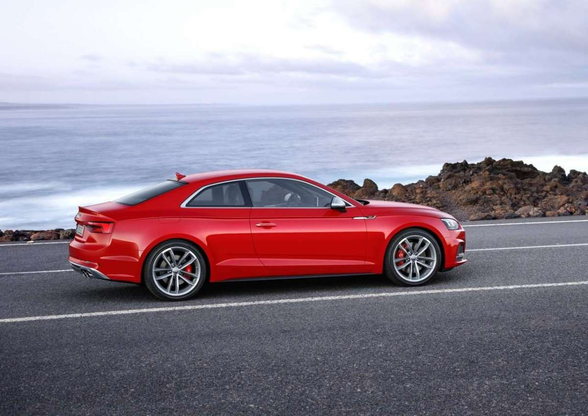 Audi S5 Coupé 2017 design
