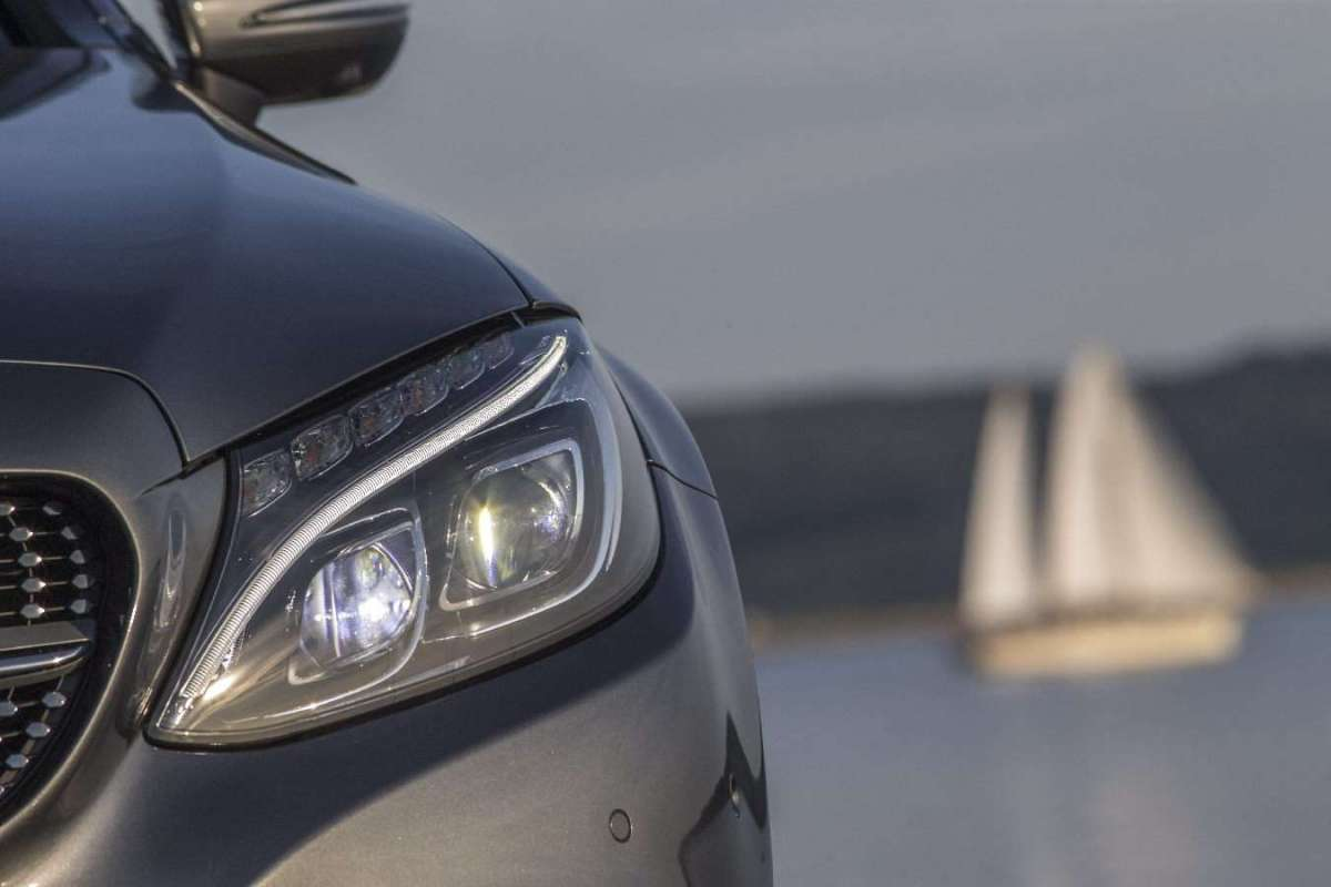Mercedes C Cabrio gruppi ottici Full-LED