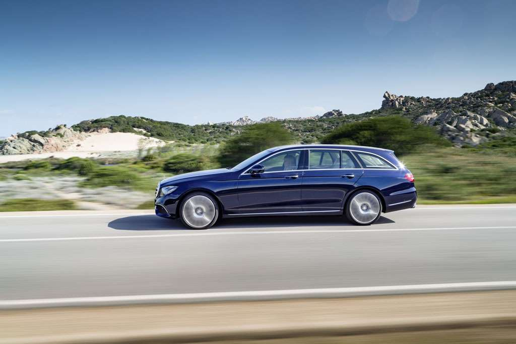 Mercedes Classe E Station Wagon design profilo