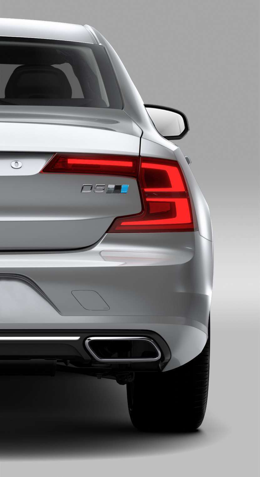 Volvo S90 Polestar Performance Optimisation targhetta