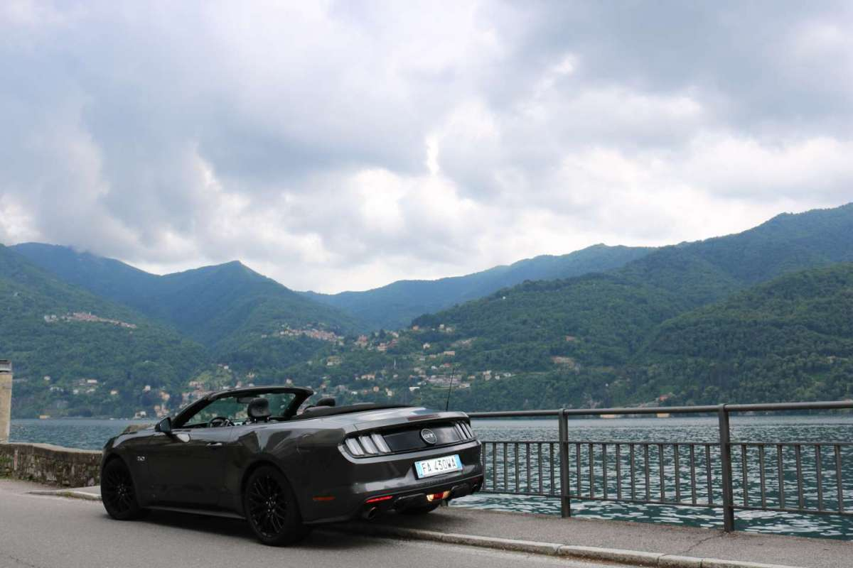 Ford Mustang Cabrio 2016 test drive