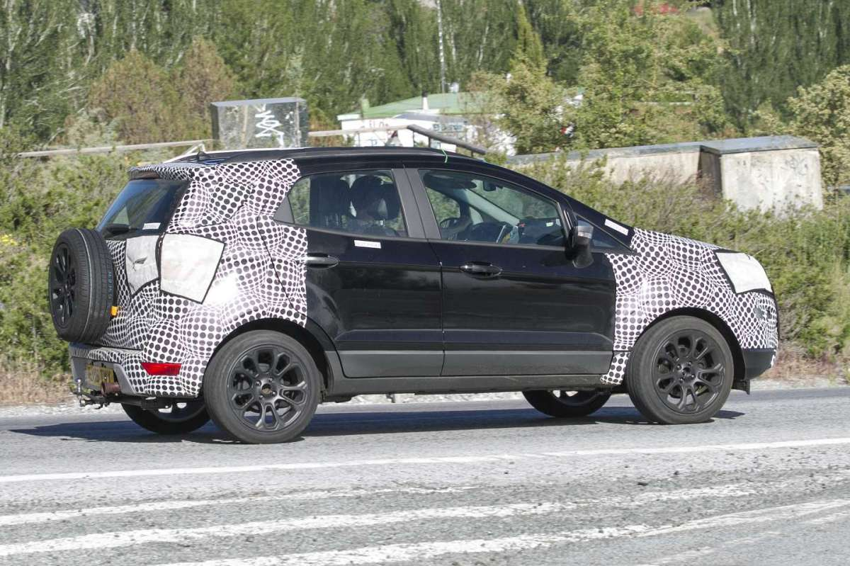 Ford Ecosport 2018 restyling design