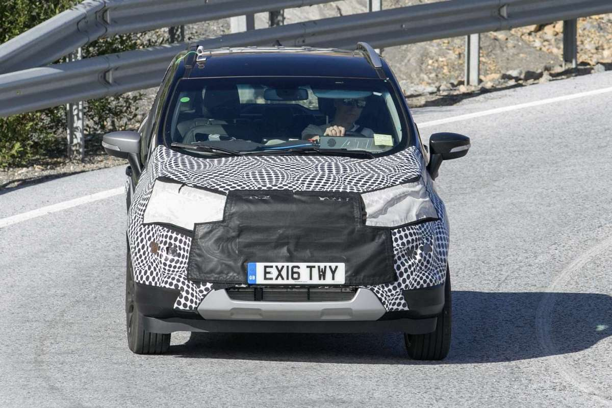 Ford Ecosport 2018 restyling muso