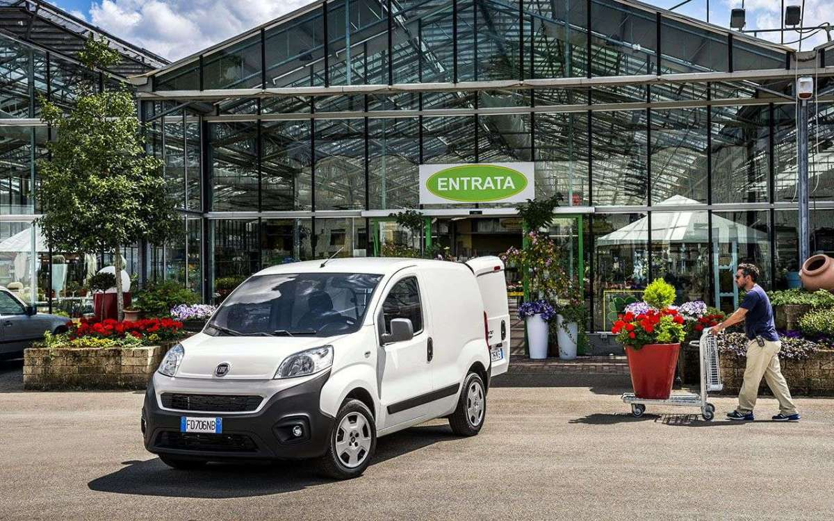 Fiat Fiorino 2016 Natural Power a metano