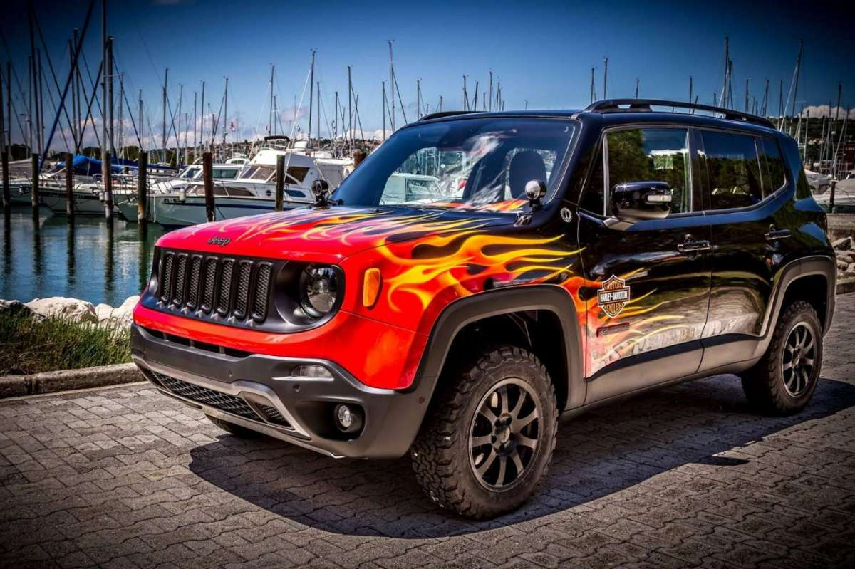 Jeep Renegade Hell's Revenge foto ufficiali