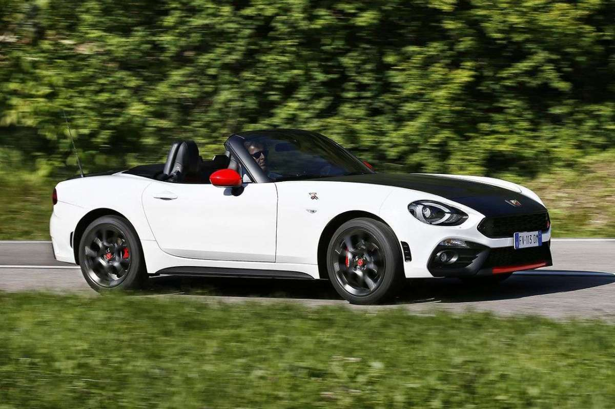 Abarth 124 Spider bicolore