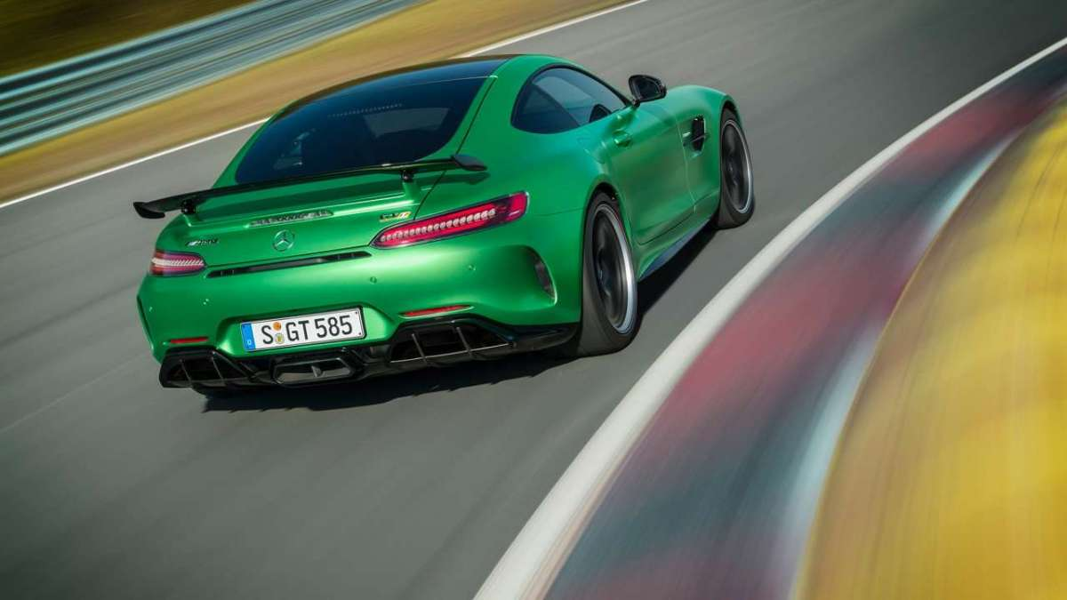Mercedes-AMG GT R laterale posteriore