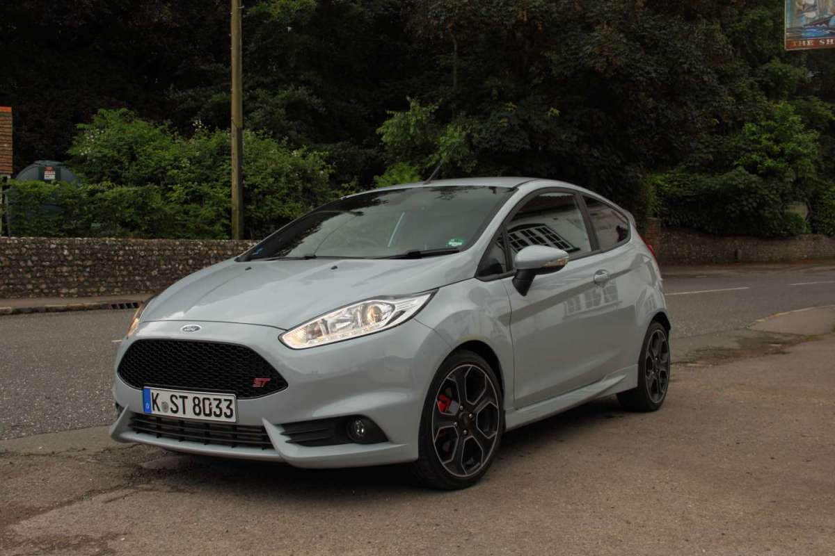 Ford Fiesta ST200, test in Inghilterra