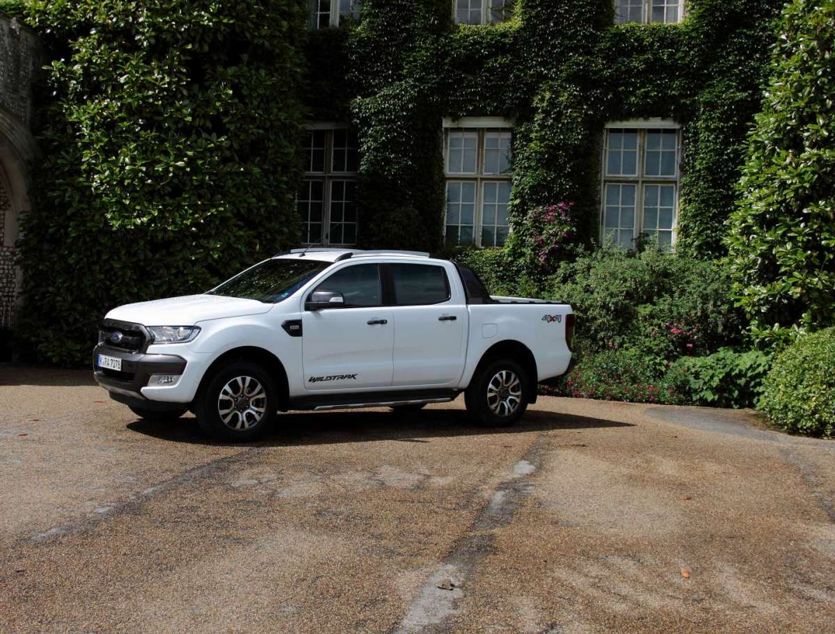 Ford Ranger, nel West Sussex