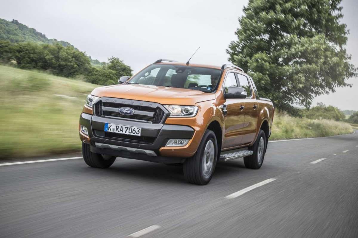 Ford Ranger, in movimento