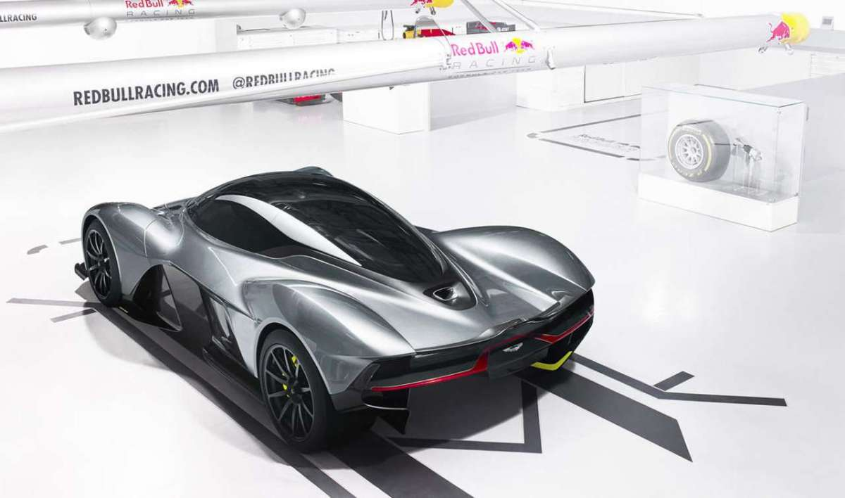 Red Bull AM-RB 001 dall'alto