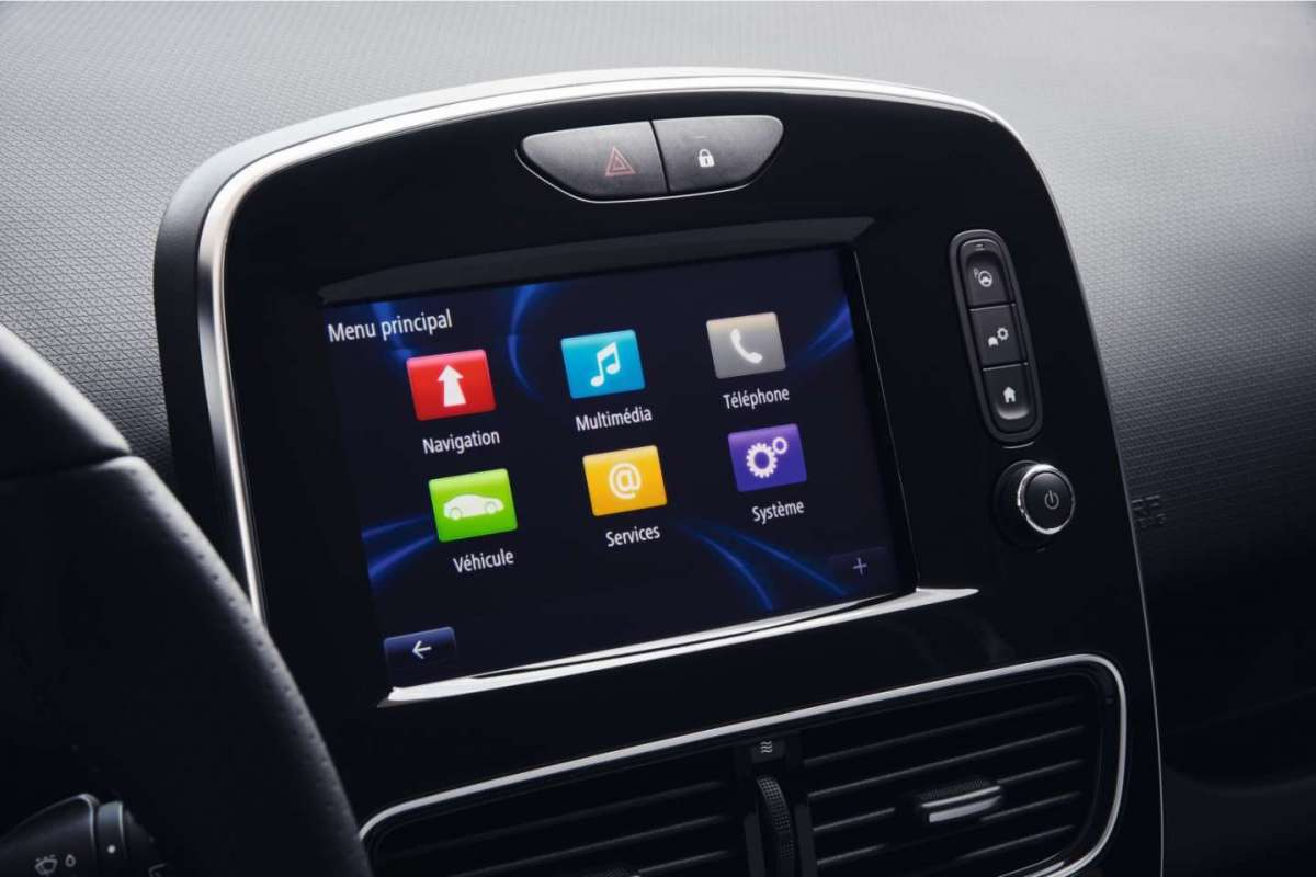 Infotainment di Renault Clio RS 2016