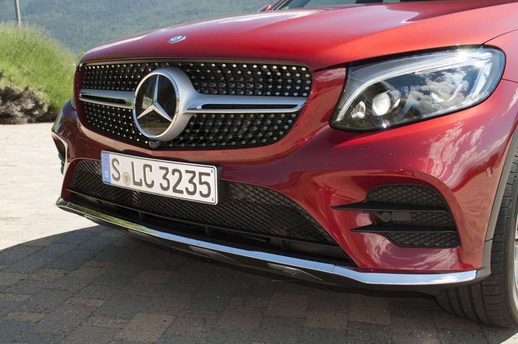 Mercedes GLC Coupé design paraurti