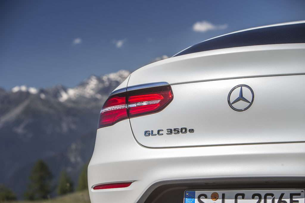 Mercedes GLC Coupé ibrida plug-in