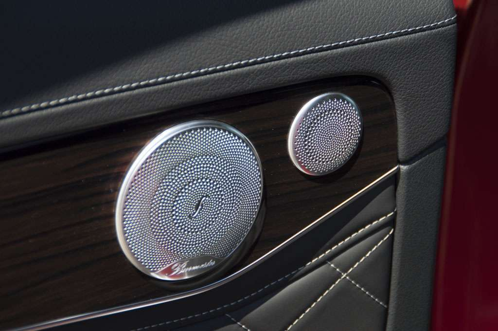 Mercedes GLC Coupé audio Burmester