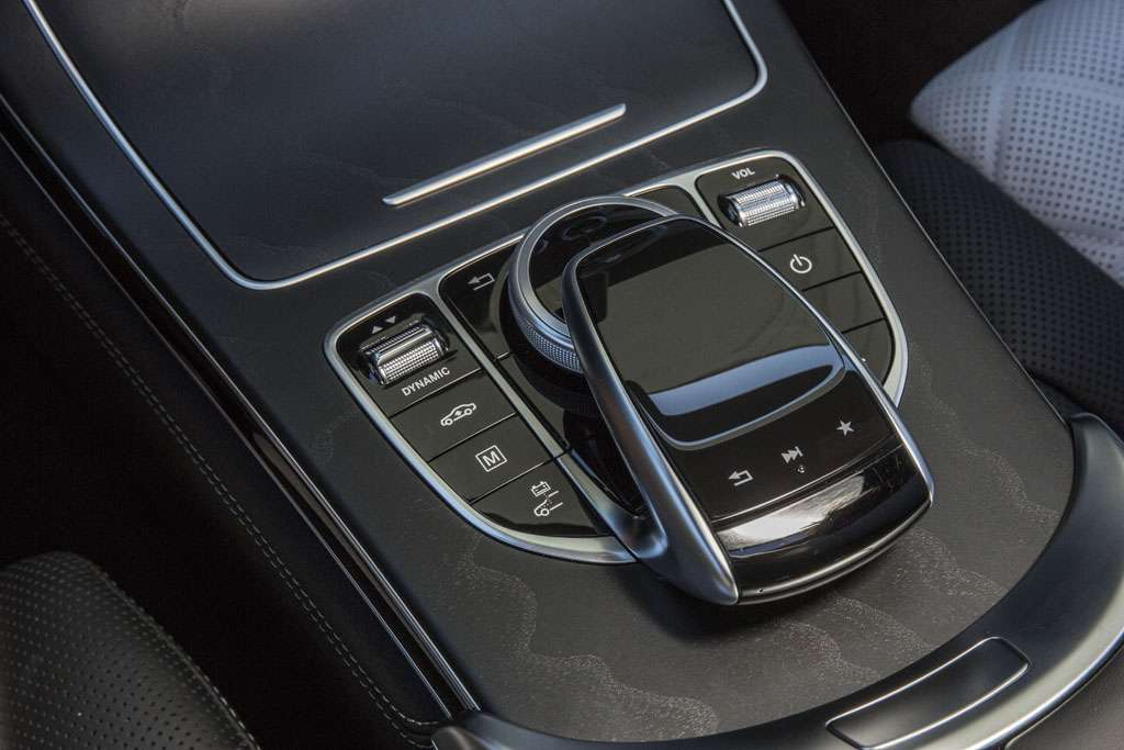 Mercedes GLC Coupé touchpad