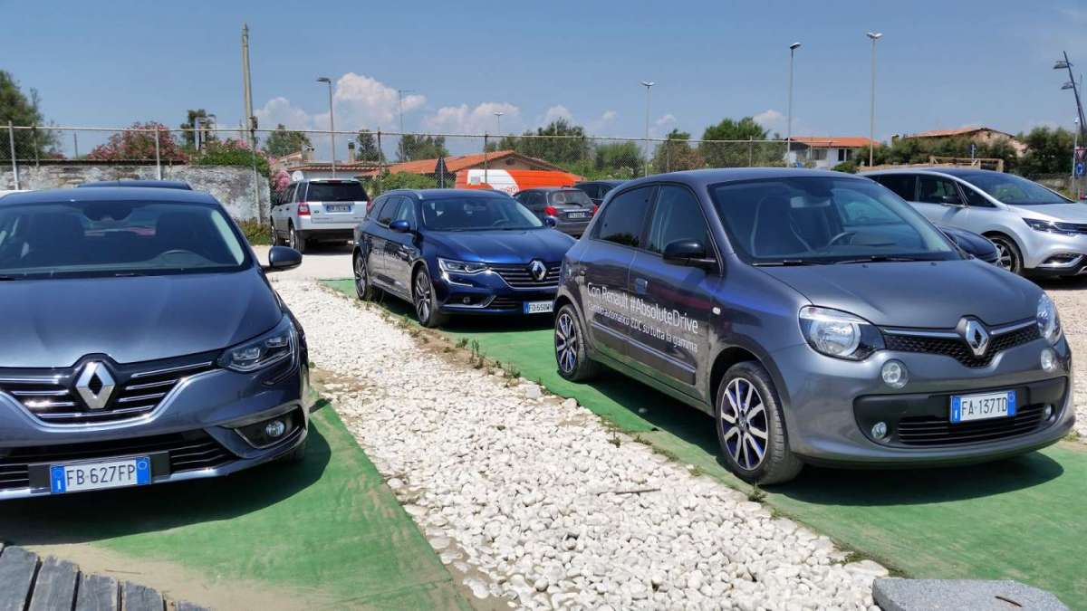 Renault Absolute Drive parco auto