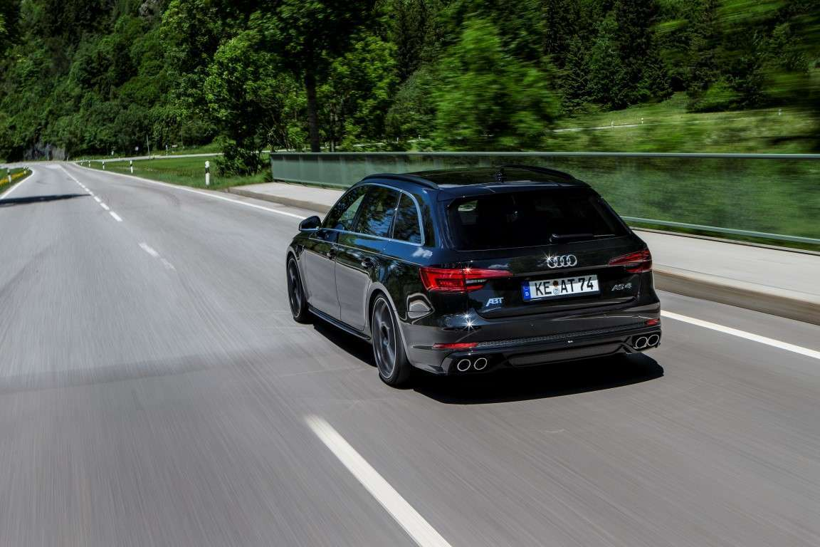 Nuova ABT AS4, tuning Audi A4 Avant