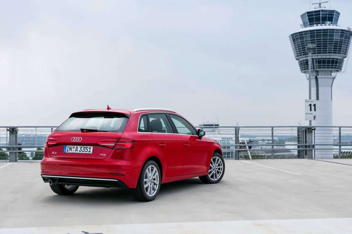 A3 Sportback 2016 restyling con pack