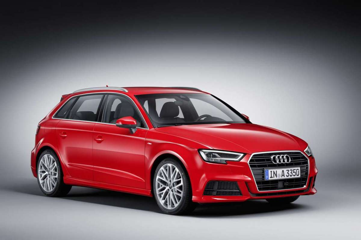 A3 Sportback 2016 restyling con S Line Pack