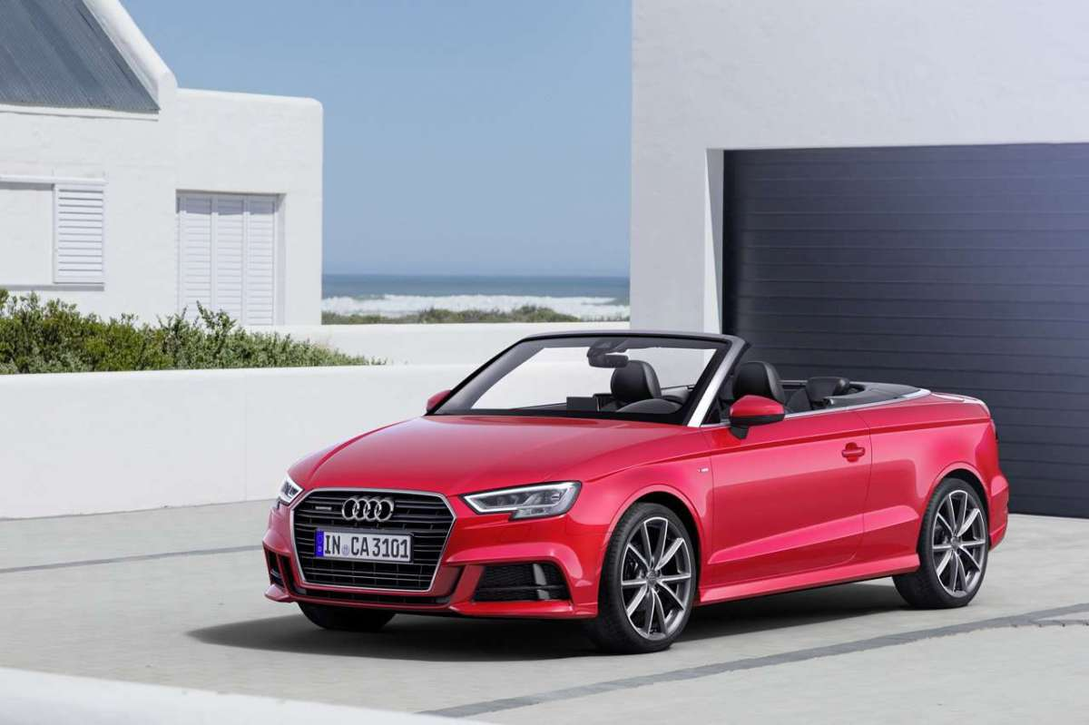 Restyling per l'A3 Cabriolet 2016