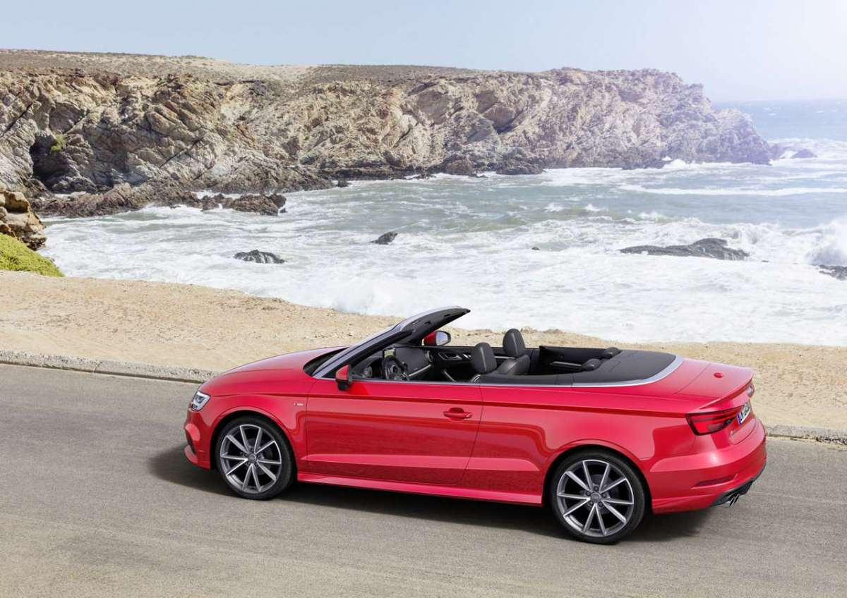 A3 Cabriolet 2016 restyling capote aperta